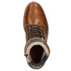 Men's Leather Winter Boots bata, brown , 896-3666 - 26