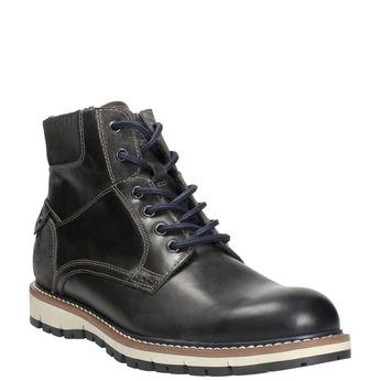 Men's Winter Ankle Boots bata, gray , 896-2657 - 13