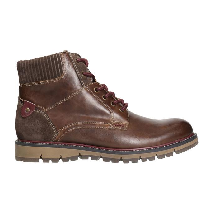 Men's Winter Ankle Boots bata, brown , 896-4657 - 15