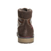 Men's Winter Ankle Boots bata, brown , 896-4657 - 17