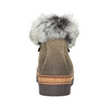 Ladies' winter boots with artificial fur bata, brown , 596-3675 - 16
