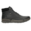 Men's Leather Winter Boots bata, black , 896-6672 - 15