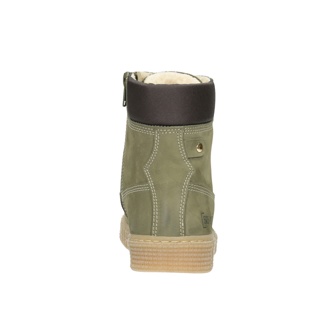 Children's Insulated Winter Boots mini-b, green, 496-3620 - 16