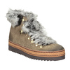 Ladies' winter boots with artificial fur bata, brown , 596-3675 - 13