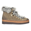 Ladies' winter boots with artificial fur bata, brown , 596-3675 - 26