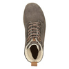 Ladies' Leather Winter Boots weinbrenner, brown , 596-4666 - 15