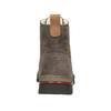 Ladies' Leather Winter Boots weinbrenner, brown , 596-4666 - 16