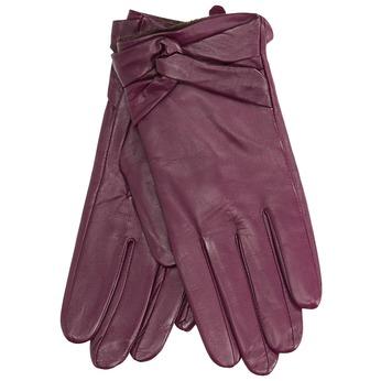 Ladies' leather gloves bata, violet , 904-0109 - 13