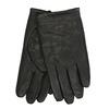 Black leather gloves bata, black , 904-6130 - 13