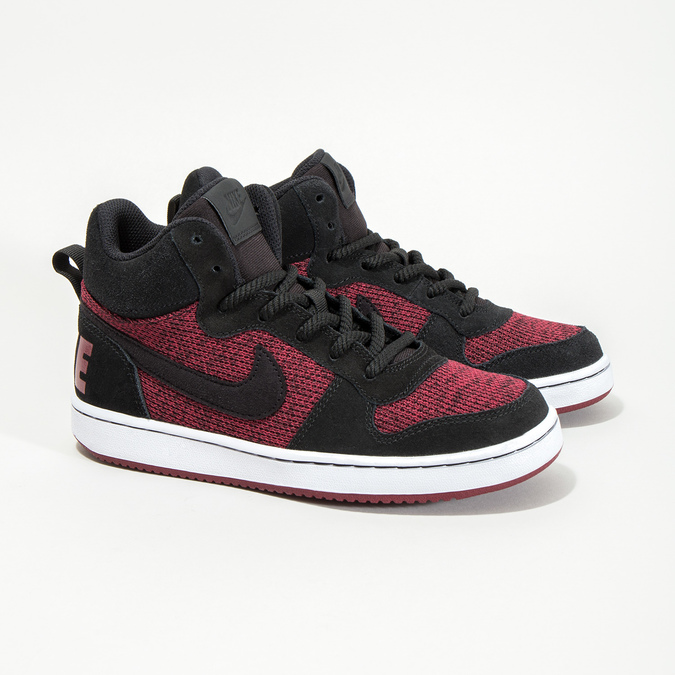Children's High-Top Sneakers nike, red , 401-5405 - 26