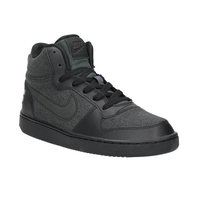 Children's High-Top Sneakers nike, gray , 401-2405 - 13