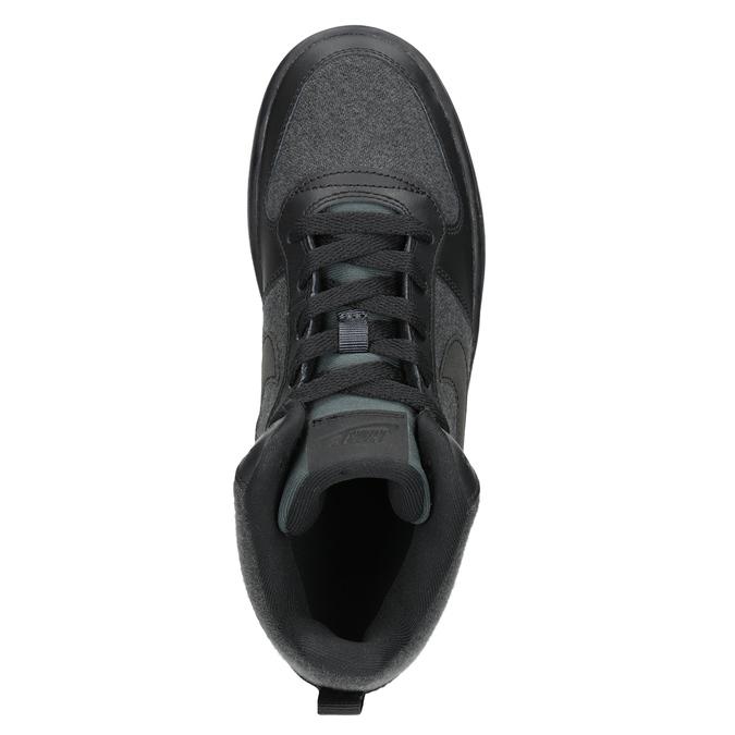 Children's High-Top Sneakers nike, gray , 401-2405 - 17
