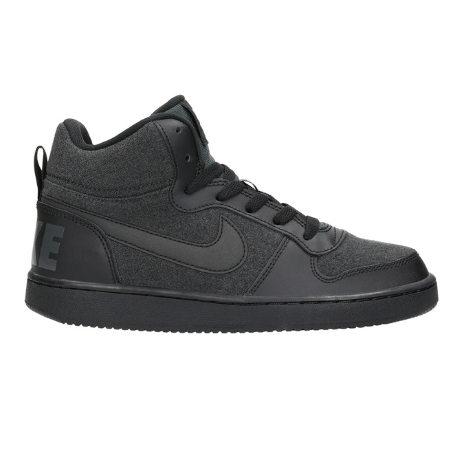 Children's High-Top Sneakers nike, gray , 401-2405 - 16