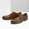Men's thick-soled leather shoes bata, brown , 826-3809 - 16