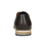 Brown leather dress shoes bata, brown , 826-3924 - 16