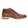 Men's leather ankle boots bata, brown , 826-3925 - 26