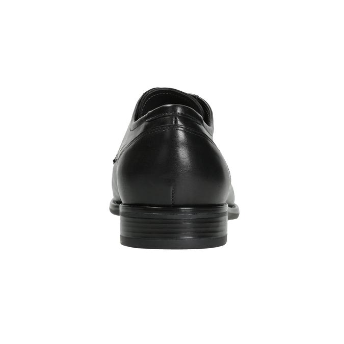 Men's Leather Derby Shoes bata, black , 824-6995 - 16