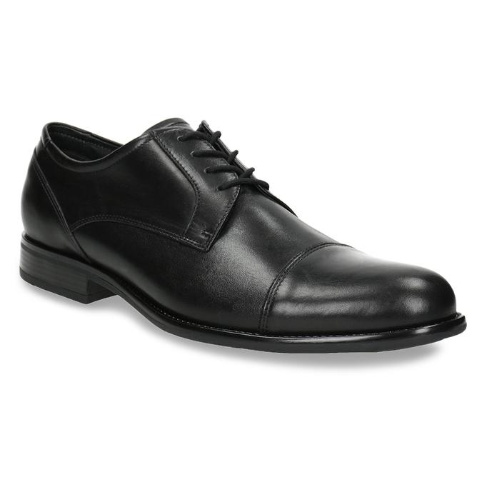 Men's Leather Derby Shoes bata, black , 824-6995 - 13