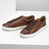 Men's Leather Sneakers bata, brown , 846-4648 - 16