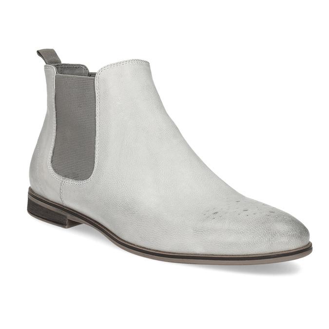 Ladies' Chelsea style boots bata, gray , 596-1684 - 13