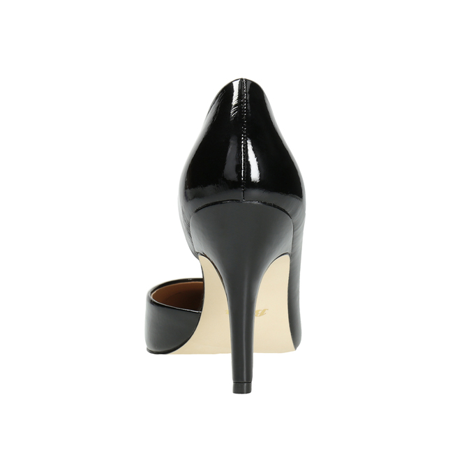 Black patent pumps insolia, black , 721-6615 - 16