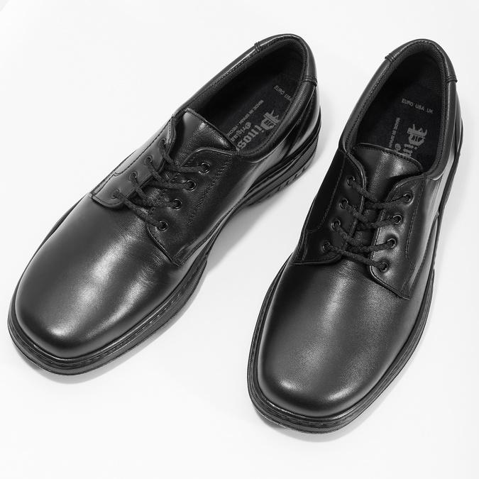 Men's shoes with a distinctive sole pinosos, black , 824-6540 - 16