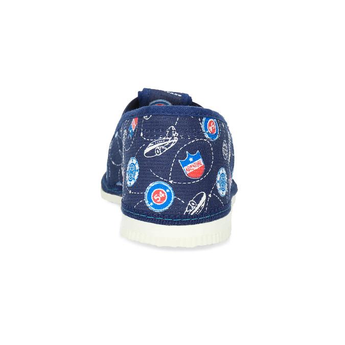 Children's slippers bata, blue , 379-9012 - 15