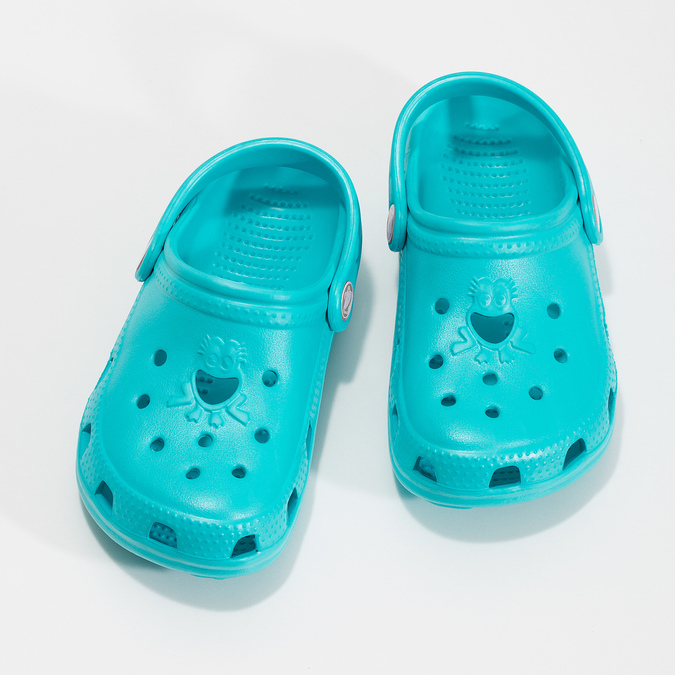 Children's turquoise sandals coqui, turquoise, blue , 372-9605 - 16