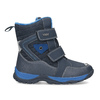 Children's winter boots with Velcro mini-b, blue , 491-9653 - 19